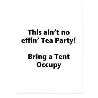 ¡Ésta no es ninguna fiesta del té del effin! Postales