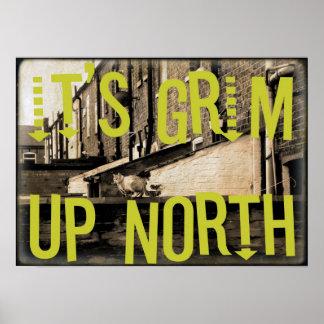 Está norte ascendente severo póster