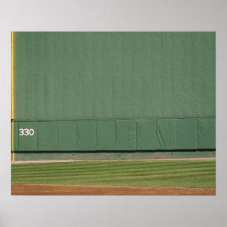Esta pared se conoce como 'el monstruo verde. 'Asq Póster