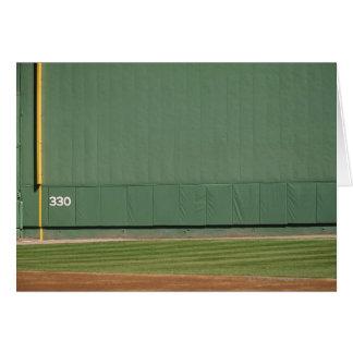 Esta pared se conoce como 'el monstruo verde. 'Asq Tarjeta De Felicitación