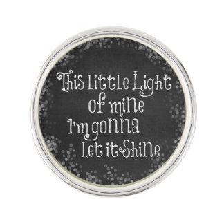 Esta pequeña luz los míos que van a dejarla insignia