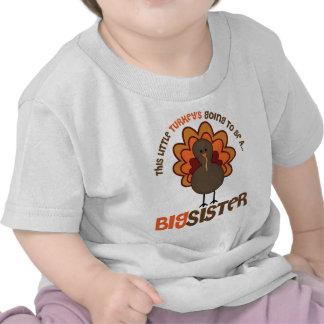 Esta pequeña Turquía que va a ser una hermana Camiseta
