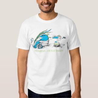 ESTÁ PHRESH O ES ÉL diseño de la camiseta de Playera