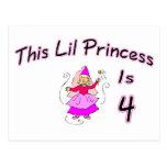 Esta princesa Is 4 de Lil Postales