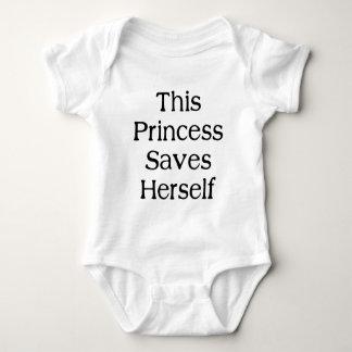 Esta princesa Saves Playera