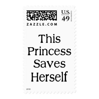 Esta princesa Saves Sello