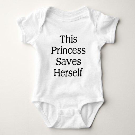 Esta princesa Saves T-shirt