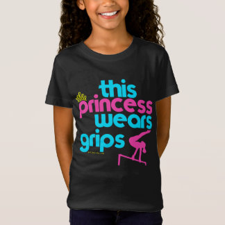 Esta princesa Wears Grips Gymnastics - Golly Playera