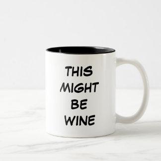 Ésta pudo ser tazas del vino