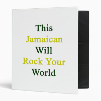Esta roca jamaicana de la voluntad su mundo