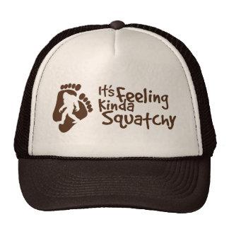Está sintiendo un poco el gorra del camionero de S