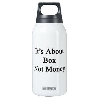 Está sobre el dinero de la caja no