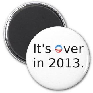 Está sobre en 2013 Anti-Obama Imán Redondo 5 Cm