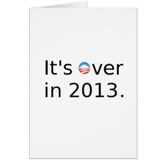 Está sobre en 2013 Anti-Obama Tarjetón