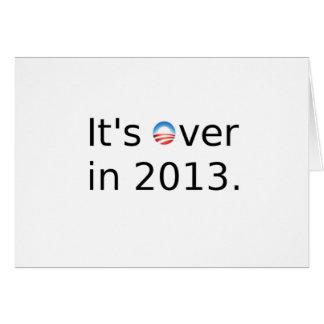 Está sobre en 2013 Anti-Obama Felicitaciones