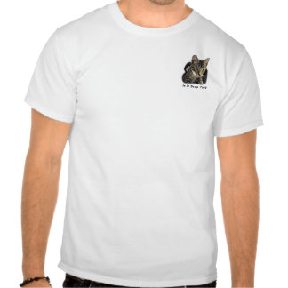 """Está sopa todavía?"" Sir Edward Pussycat Shirt Camiseta"