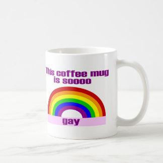 Esta taza de café es gay de Soooo