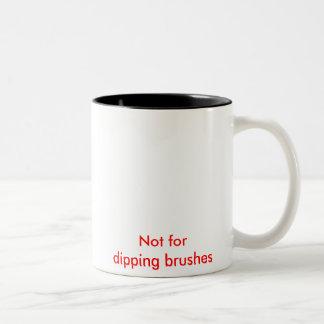Esta taza no para sumergir cepillos