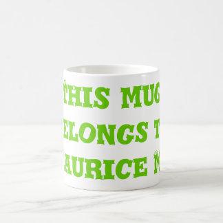 Esta taza pertenece    al musgo de Mauricio