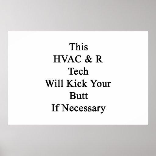 Esta tecnología de la HVAC R golpeará su extremo c Póster