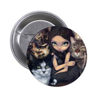 """""""Está todo sobre botón de los gatos"""" Pins"""