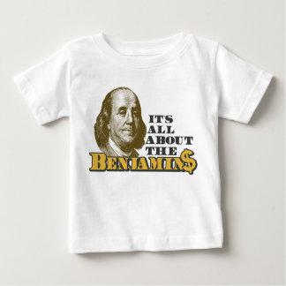 Está todo sobre el Benjamins Playera De Bebé
