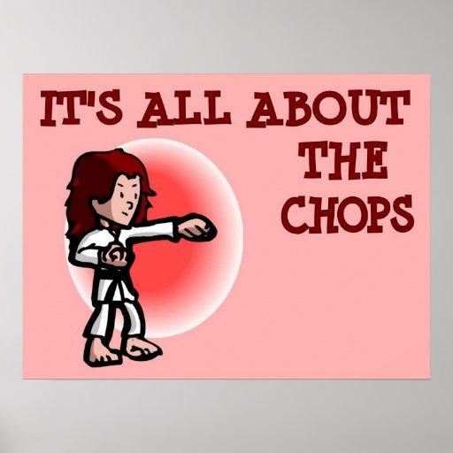 Está todo sobre el poster de los artes marciales d