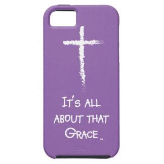 Está todo sobre esa tolerancia - caja del teléfono iPhone 5 carcasa