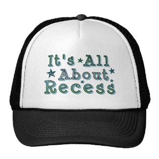 Está todo sobre hendidura gorras de camionero