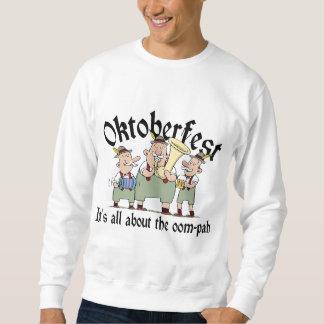 Está todo sobre la camiseta del Oom-pah