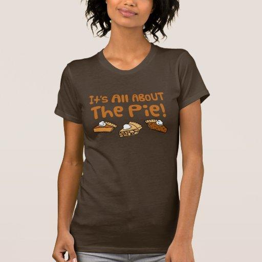 Está todo sobre la empanada camisetas