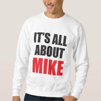 Está todo sobre Mike personalizó la camiseta Jersey