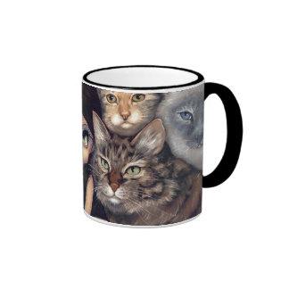 Está todo sobre taza de los gatos