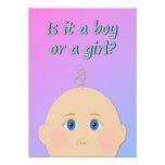 Está un muchacho o un chica - el género revela al