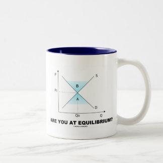 ¿Está usted en el equilibrio? (Curva de la Fuente- Taza De Café