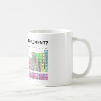 ¿Está usted en su elemento? (Humor de la tabla Taza De Café