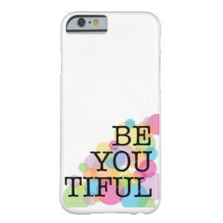 Está usted la caja blanca del teléfono de Tiful Funda Para iPhone 6 Barely There