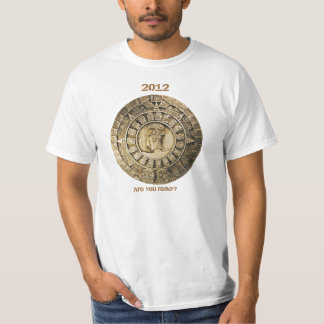 ¿Está usted listo para 2012? camiseta