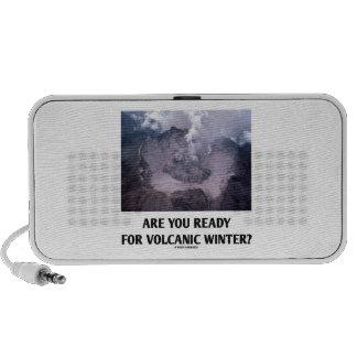 ¿Está usted listo para el invierno volcánico? (Vul PC Altavoces