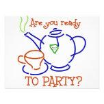 ¿Está usted listo para ir de fiesta? Anuncios Personalizados