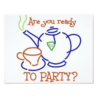 ¿Está usted listo para ir de fiesta?