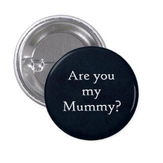 Está usted mi botón de la momia pin