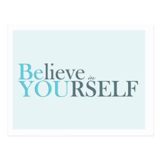 Está usted - postal de motivación