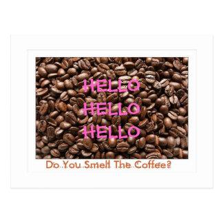 Está usted postal del Despierto-Café - modificada