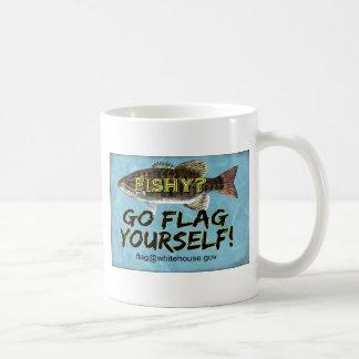 Está USTED taza a pescado