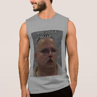 Está usted un meme del mago camiseta sin mangas