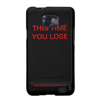 Esta vez usted pierde la caja del teléfono galaxy s2 fundas