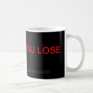 Esta vez usted pierde la taza