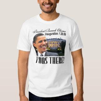 Estaba allí camiseta (de la casa blanca) poleras