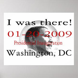 ESTABA ALLÍ la inauguración 48 de Obama el pos